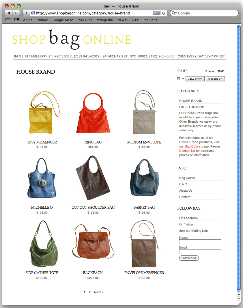 Shop Bag Online
